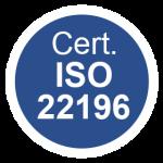 sanicarter certificazione ISO 22196